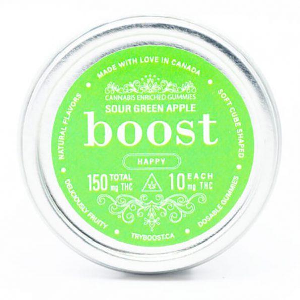 Boost-Sour-Green-Apple-Gummies-150MG-THC