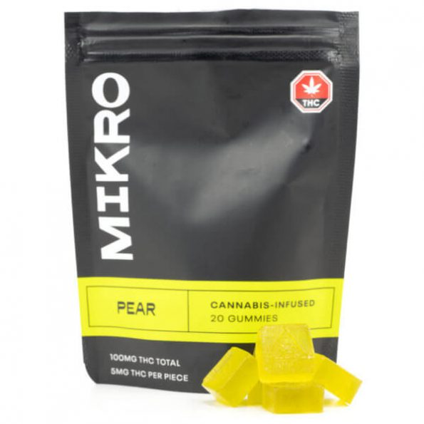 Mikro-100MG-THC-Gummies-Pear-600×600