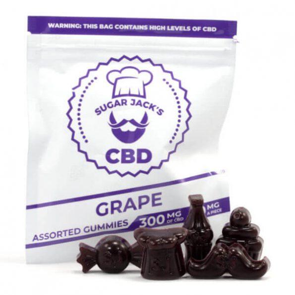 SugarJacks-Assorted-CBD-Gummies-Grape-200MG-600×600
