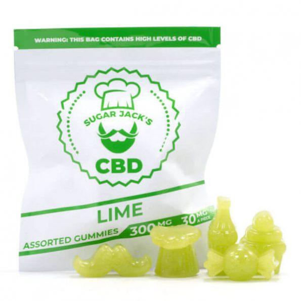SugarJacks-Assorted-CBD-Gummies-Lime-200MG-600×600