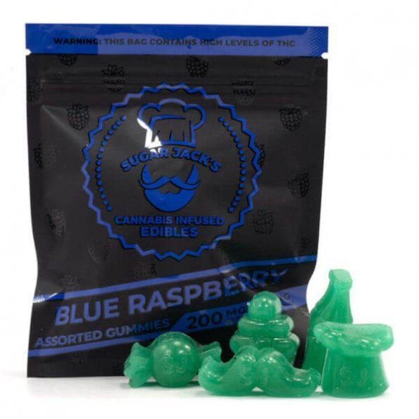 SugarJacks-Assorted-THC-Gummies-Blue-Raspberry-200MG-600×600