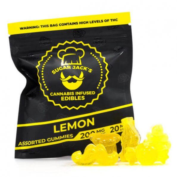 SugarJacks-Assorted-THC-Gummies-Lemon-200MG-600×600