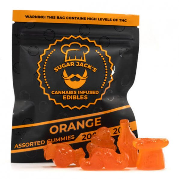 SugarJacks-Assorted-THC-Gummies-Orange-200MG-600×600