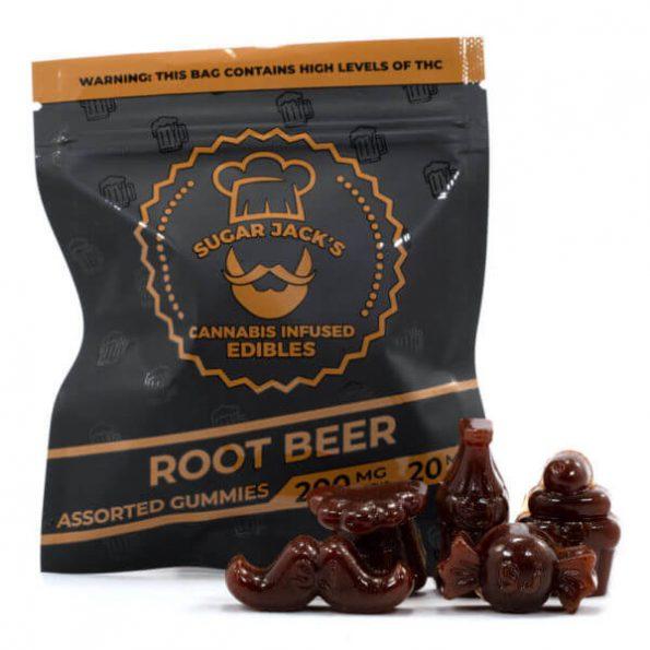 SugarJacks-Assorted-THC-Gummies-Root-Beer-200MG-600×600