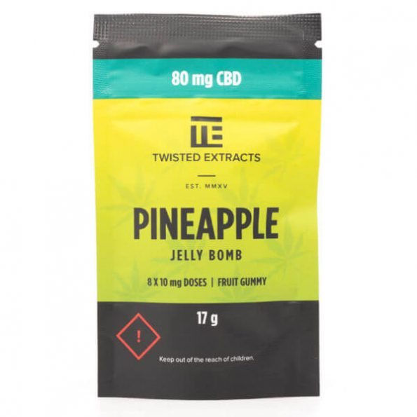 Twisted-Extracts-Pineapple-Jelly-Bomb-CBD-80MG-600×600